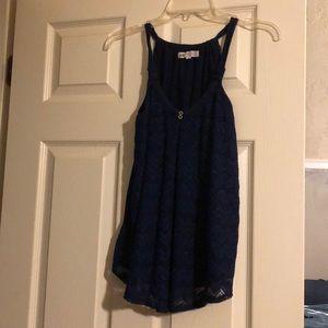 Jolt top navy blue
